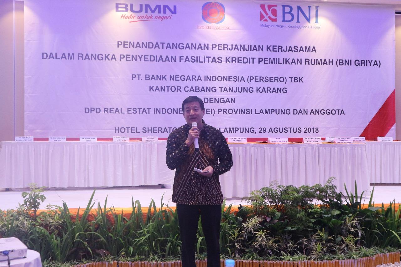 ketua DPD REI Lampung