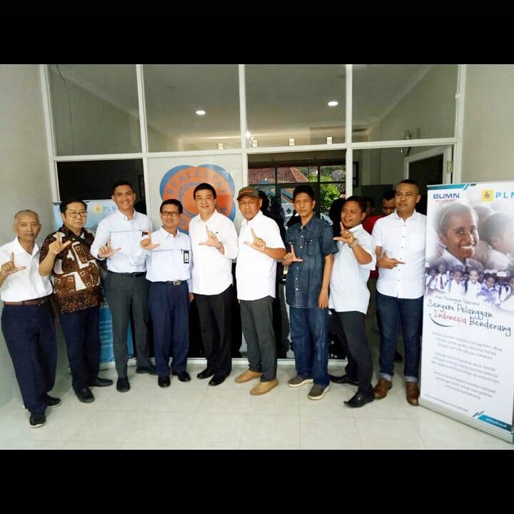 pertemuan dpd rei lampung dan pln distribusi Lampung