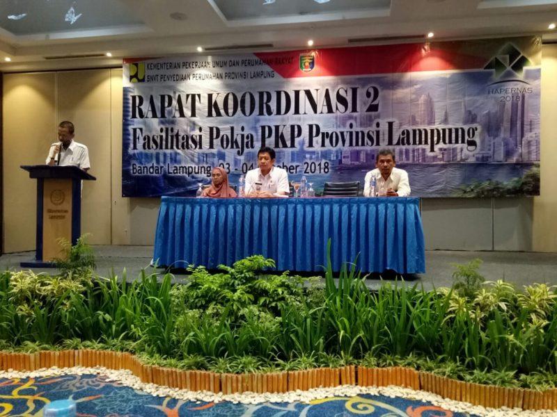 DPD REI Lampung sebagai wakil ketua 2 pokja PKP (PEMBANGUNAN KAWASAN PEMUKIMAN) Prov. Lamp