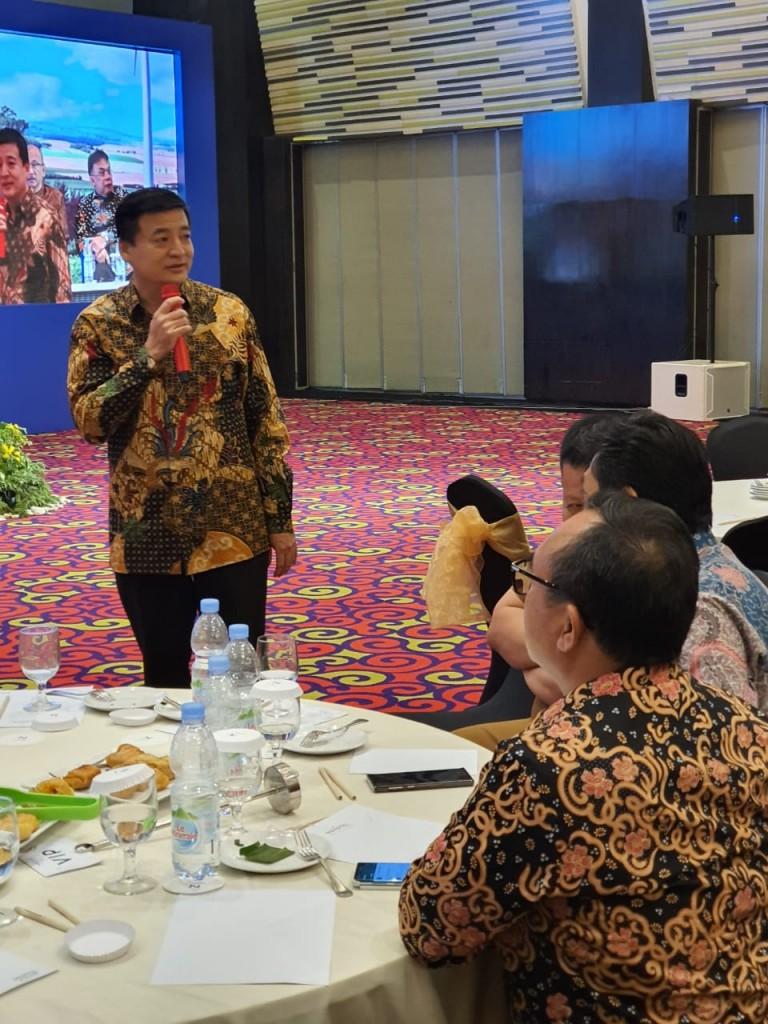 ketua DPD REI Lampung acara pelonggaran LTV 2019